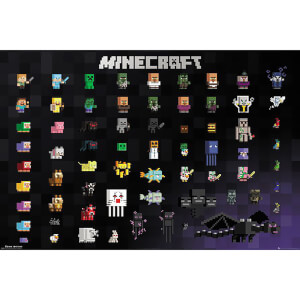 Minecraft Pixel Sprites Maxi Poster 61 x 91.5cm