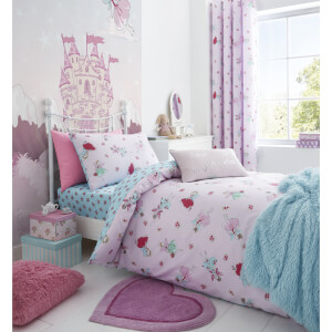 Catherine Lansfield Fairies Duvet Set