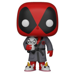 Marvel - Deadpool in Vestaglia Figura Pop! Vinyl