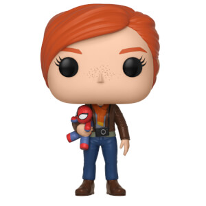 Figurine Pop! Mary Jane avec Peluche - Spider-Man Gamerverse Marvel