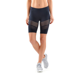 Skins DNAmic Women's Square Seamless Shorts - Harbour