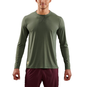 Skins Activewear Men's Fitness Avatar Long Sleeve Top - Utility Marle