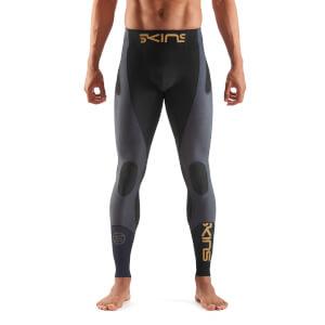 Skins K-Proprium Men's Compression Long Tights - Black/Carbon