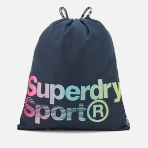 Superdry Sport Women's Drawstring Bag - Navy