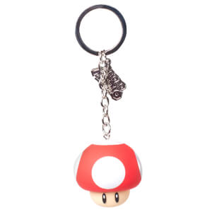 Mushroom - Rubber 3D Keychain