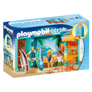 Playmobil Surf Shop Play Box (5641)