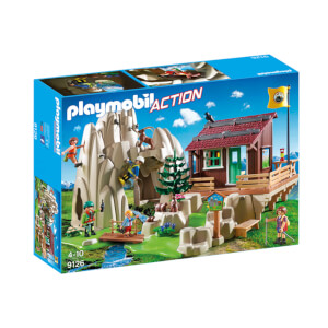Playmobil Rock Climbers with Cabin (9126)