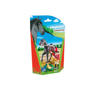 Playmobil Country : Jockey avec cheval de course (9261)
