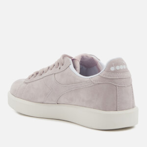 Diadora Women's Game Wide Nubuck Trainers - Violet Hushed: Image 2