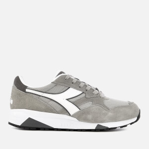 Diadora Men's N902 S Nylon/Suede Trainers - Paloma Grey