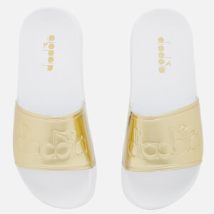 Diadora Women's Serifos '90s Slide Sandals - Rich Gold