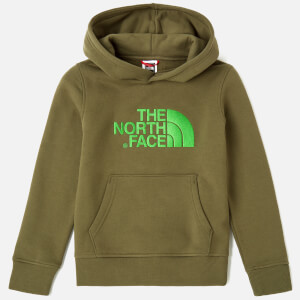 The North Face Boys' Drew Peak Po Hoodie - Burnt Olive Green