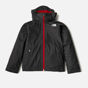 The North Face Boys' Stormy Day Rain Jacket - Asphalt Grey