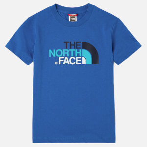 The North Face Boy's Short Sleeve T-Shirt - Turkish Sea