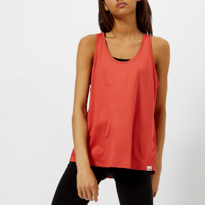 The North Face Women's 24 Hour Tank Top - Sunbaked Red Heather