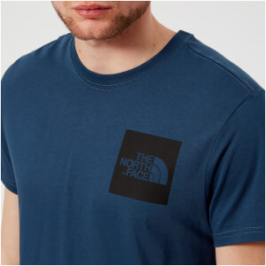 The North Face Men's Short Sleeve Fine T-Shirt - Blue Wing Teal
