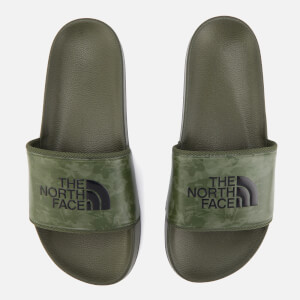 The North Face Men's Base Camp II Slide Sandals - English Green Tropical Camo/English Green