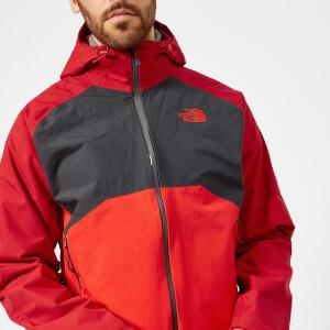 The North Face Men's Stratos Jacket - Rage Red/Asphalt Grey/High Risk Red