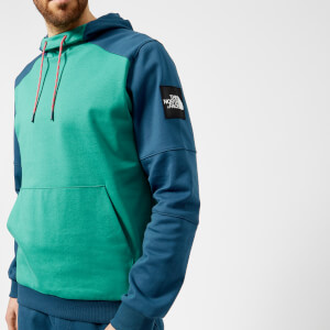 The North Face Men's Fine Box Hoodie - Porcelain Green/Blue Wing Teal