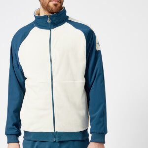 The North Face Men's 1990 Staff Fleece Jacket - Blue Wing Teal/Vintage White