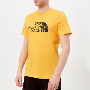 The North Face Men's Short Sleeve Easy T-Shirt - TNF Yellow