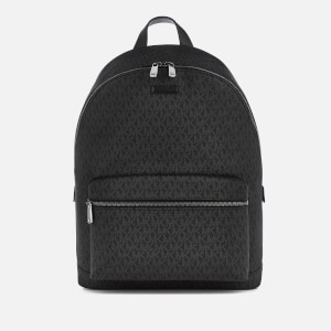 Michael Kors Men's Jet Set Logo Backpack - Black
