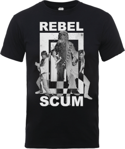 Star Wars Rebel Scum T-shirt - Zwart