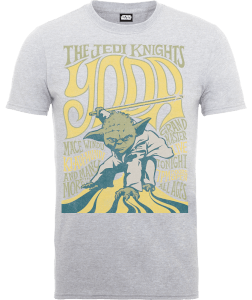 "Camiseta Star Wars Yoda ""The Jedi Knights"" - Hombre - Gris"