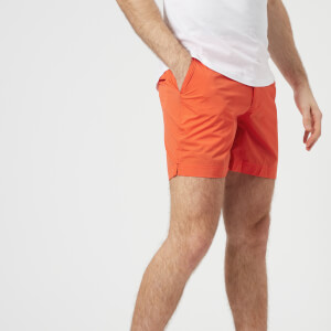 Orlebar Brown Men's Bulldog Sport Swim Shorts - Hazard Orange
