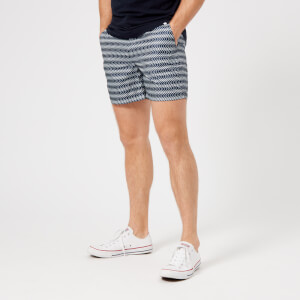 Orlebar Brown Men's Bulldog Sport Alara Swim Shorts - Navy