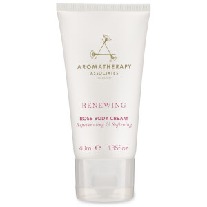 Aromatherapy Associates Renewing Rose Body Cream Deluxe Sample 40ml (Free Gift)