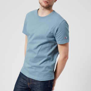 Champion Men's Short Sleeve Logo T-Shirt - Teal