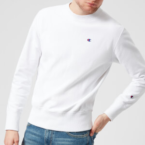 Champion Men's Crew Neck Sweatshirt - White