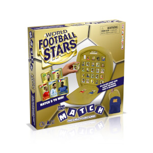 Top Trumps Match Board Game - World Football Stars Edition