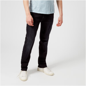 7 For All Mankind Men's Slimmy Luxe Performance Jeans - Farmington Washed Black