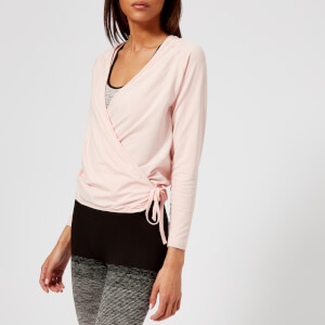 Pepper & Mayne Women's Seamless Body Wrap Cardigan - Backstage Blush