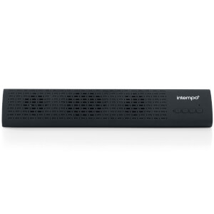 Intempo Mini Bluetooth Soundbar Speaker - Black