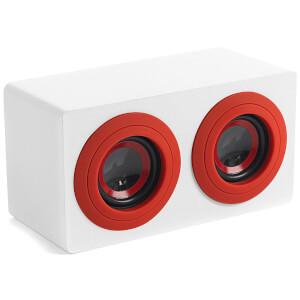 Intempo Mini Blaster Speaker - White/Red