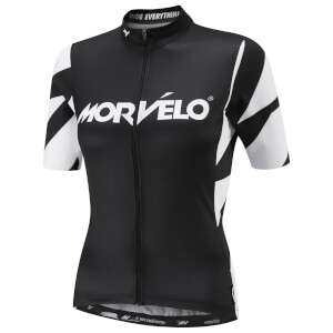 Morvelo Women's Unity Evo Short Sleeve Jersey - Black/White