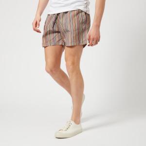 Paul Smith Accessories Men's Classic Stripe Swim Shorts - Multi