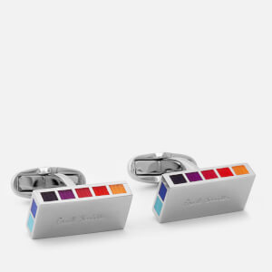 Paul Smith Accessories Men's Logo Cufflinks - Multi