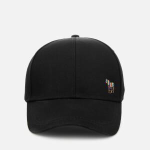 Paul Smith Accessories Men's Zebra Logo Cap - Black