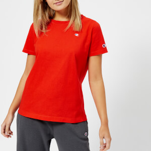 Champion Women's Logo Short Sleeve T-Shirt - Red