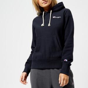 Champion Women's Classic Hoodie - Navy