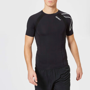 2XU Men's Compression Short Sleeve Top - Black