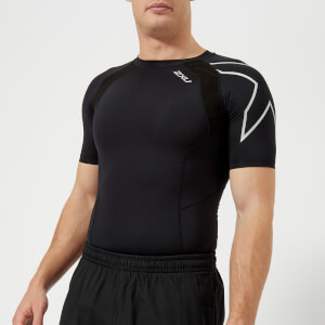 2XU Men's Core Compression Short Sleeve Top - Black