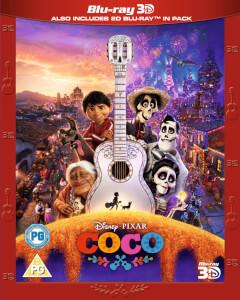 Coco- Lebendiger als das Leben 3D (Inkl. 2D Blu-ray)