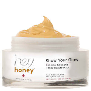 Hey Honey Show Your Glow Colloidal Gold & Honey Beauty Mask