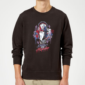 DC Comics Suicide Squad Daddys Lil Monster Pullover - Schwarz