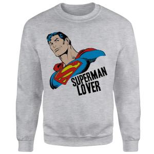 Sweat Homme Superman Lover (DC Comics) - Gris